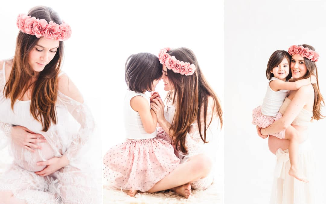 Séance studio maternité & famille