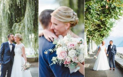 Mariage au Grand Hôtel du Lac (Vevey Suisse)
