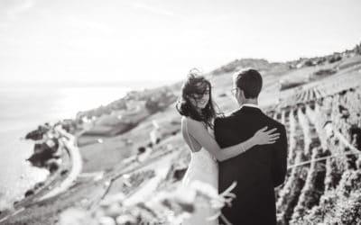 Mariage Jess et Peter (Lavaux Suisse)