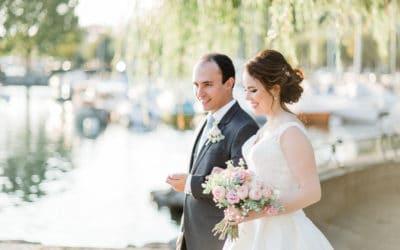 Mariage au grand Hotel du lac de Vevey