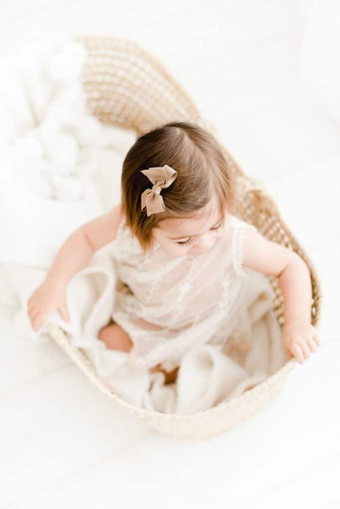 studio photo bébé, photographe de bébé Nyon, photographe morges